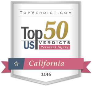 Top 50 Personal Injury Verdicts CA